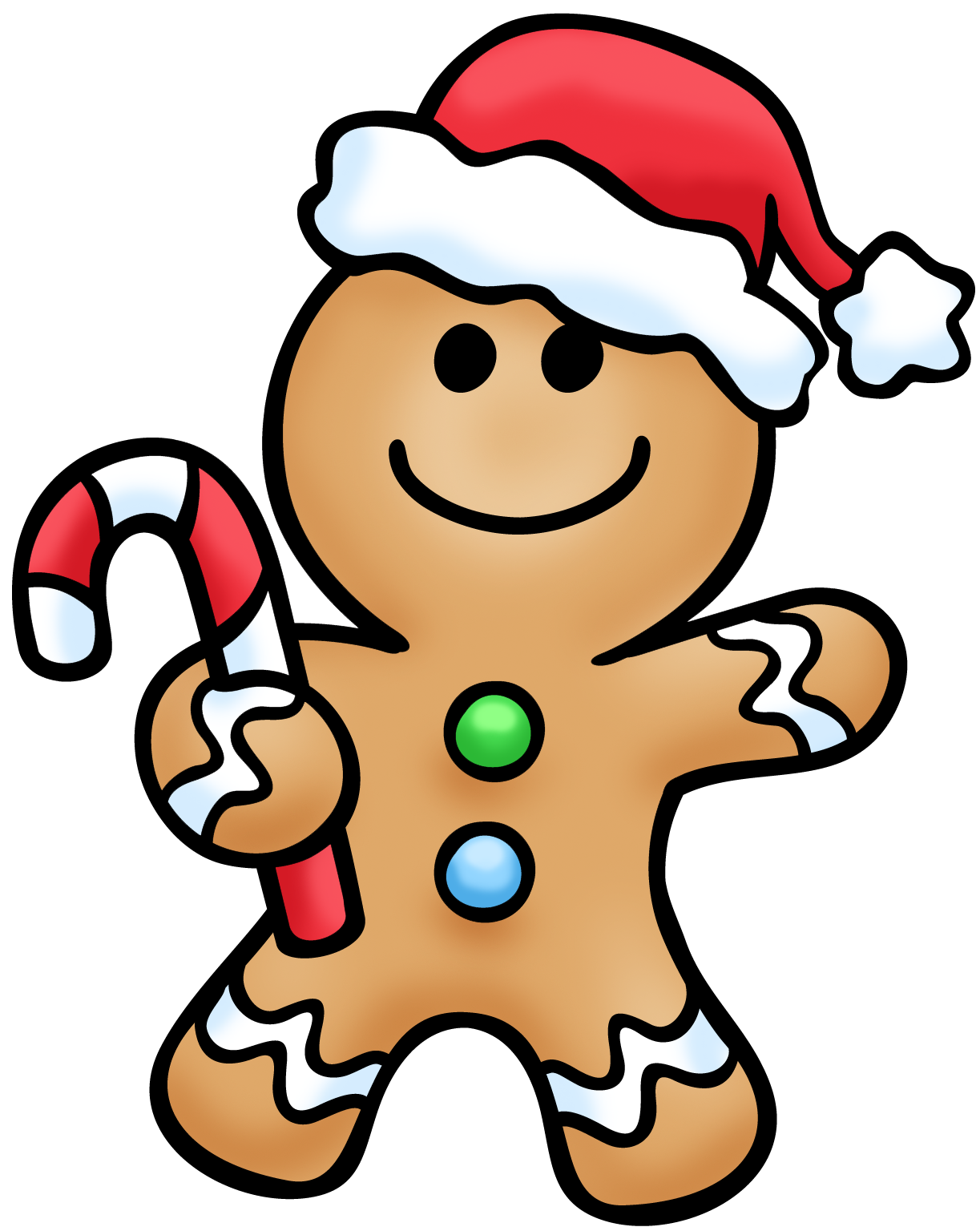 1223x1536 Free Gingerbread Man Clipart Pictures 4