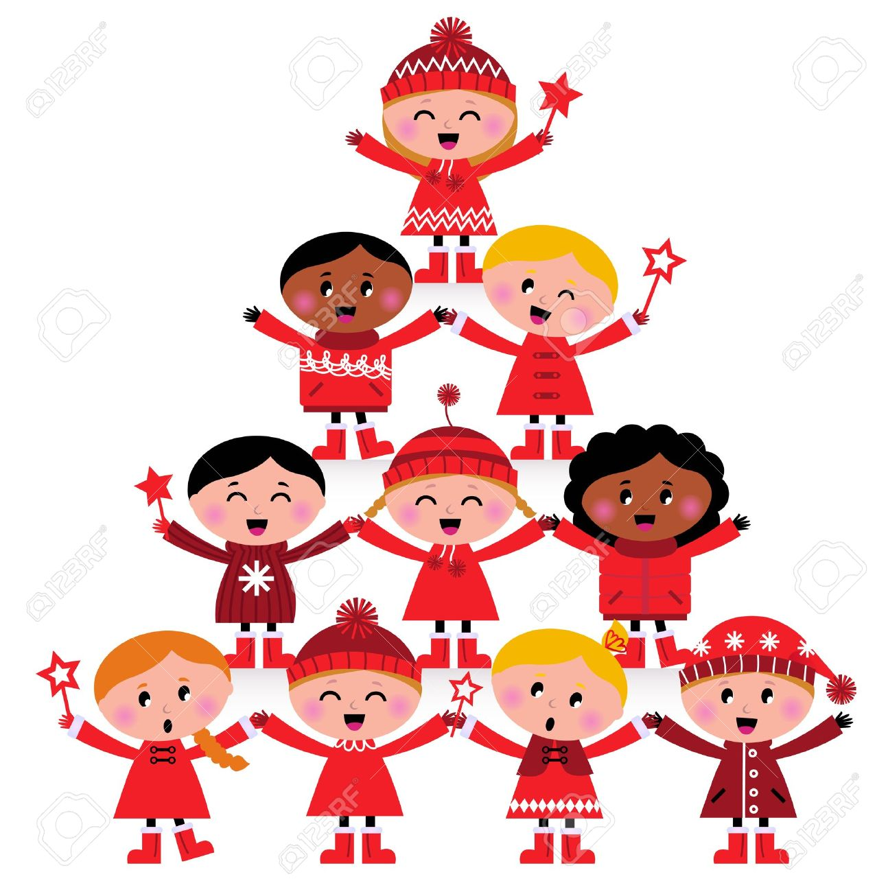 1294x1300 Kids Christmas Clipart Fun For Christmas