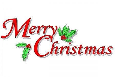 450x300 Free Merry Christmas Clip Art Clipart Panda Free Clipart
