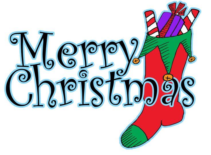 736x540 Merry Christmas Words Clipart Fun For Christmas