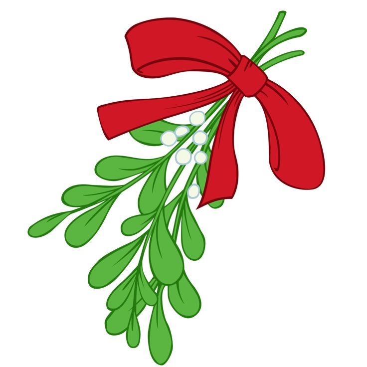 Christmas Clipart Mistletoe