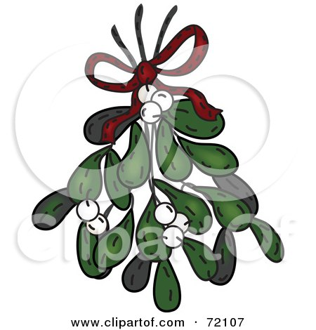 450x470 Royalty Free (Rf) Mistletoe Clipart, Illustrations, Vector Graphics