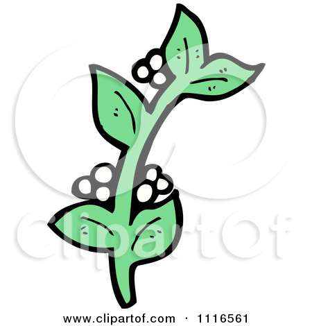 450x470 Small Christmas Mistletoe Clipart