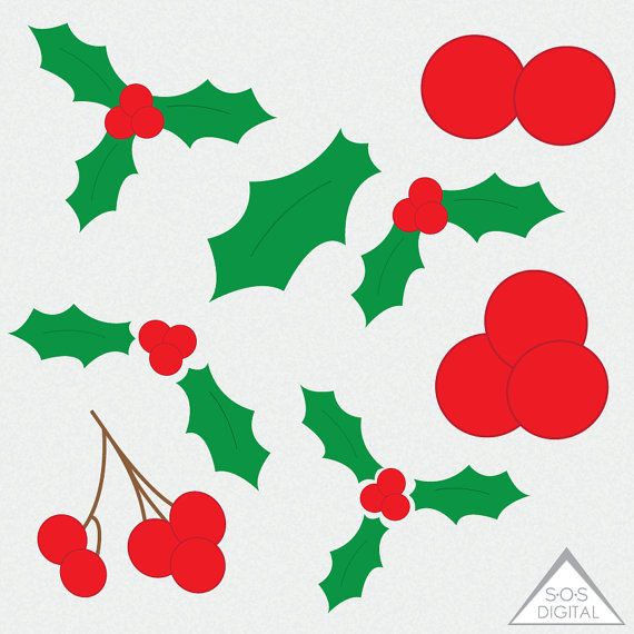 570x570 Christmas Clipart, Holly Clipart, Mistletoe Clipart, Mistle Toe