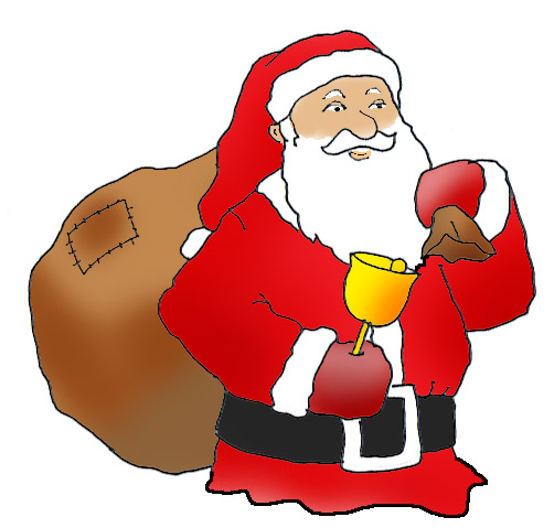 502x479 Funny And Free Santa Claus Clipart.
