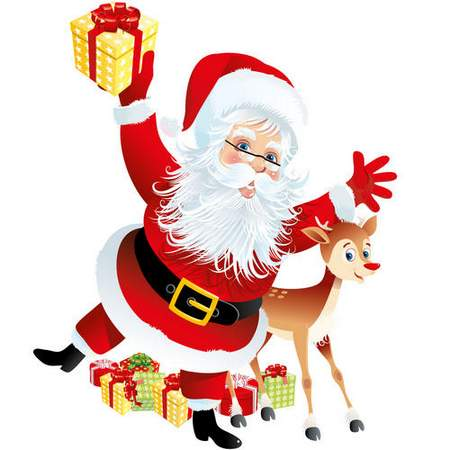 450x450 Clip Art Psd Santa Claus On A Transparent Background ( Free