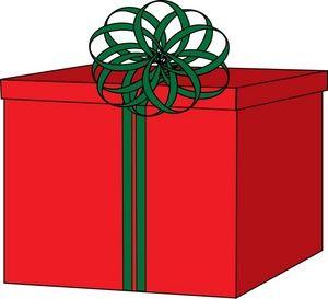 300x273 Gift Box Clipart Clipart Panda