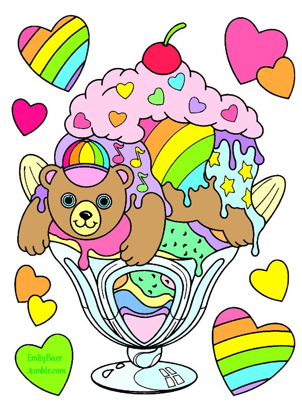 597x800 8 Best Coloring Pages Lisa Frank Images On Adult
