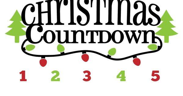 600x315 Christmas Countdown Clipart 4 Nice Clip Art
