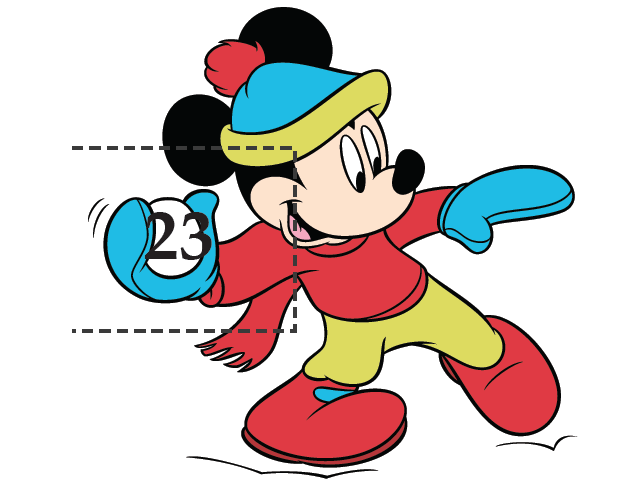 637x485 Mickey Amp Friends Christmas Countdown Calendar Disney Family