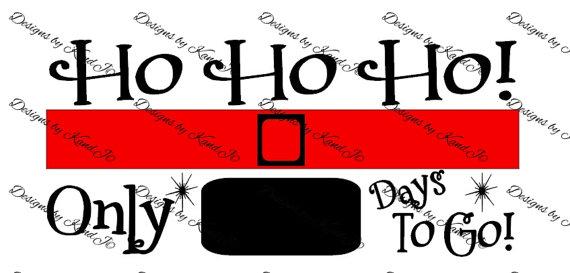 570x273 Christmas Countdown Svg Christmas Svg File Digital Cut File