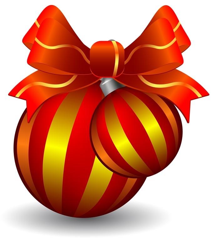 690x759 19 Best Clip Art Christmas Ornaments Images