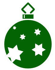 180x228 Free Christmas Lights Clipart