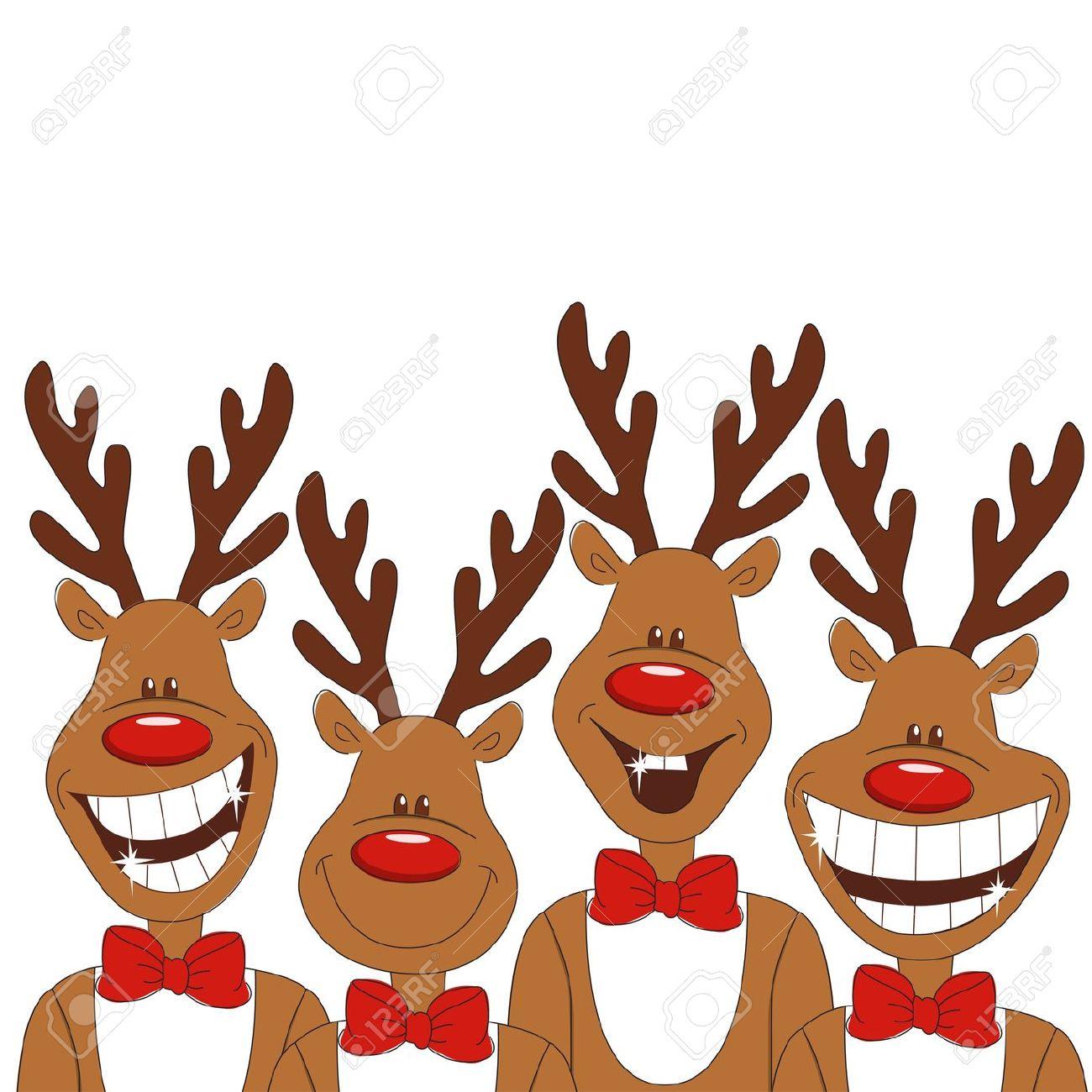 1300x1300 Clip Art Christmas Reindeer Clip Art