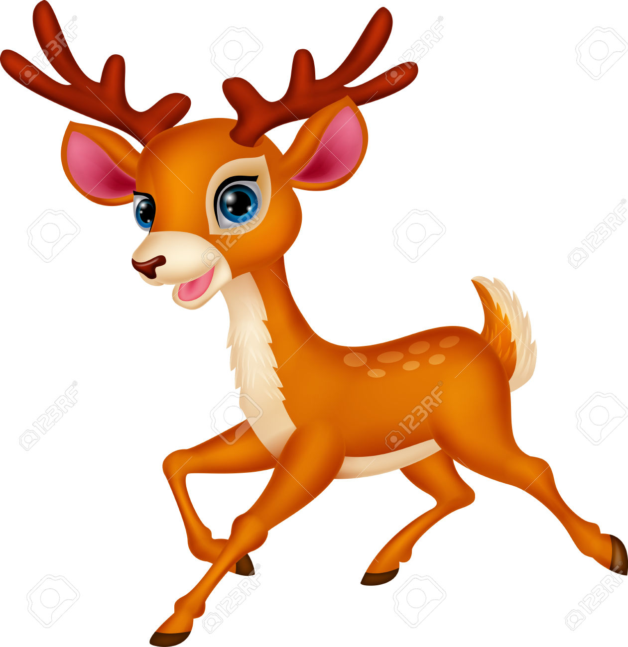 Christmas Deer Clipart At Getdrawings Com Free For