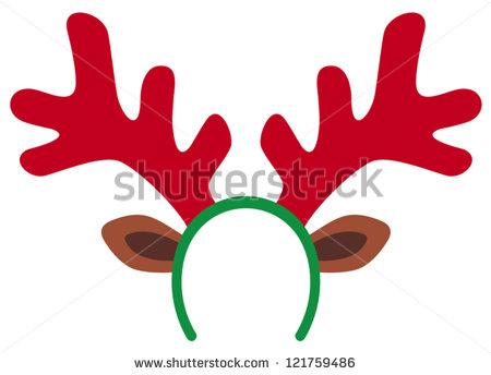 450x344 Reindeer Antler Clip Art Clipart