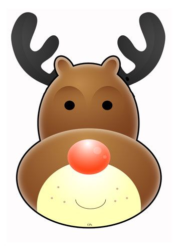353x500 Reindeer Mouth Clipart