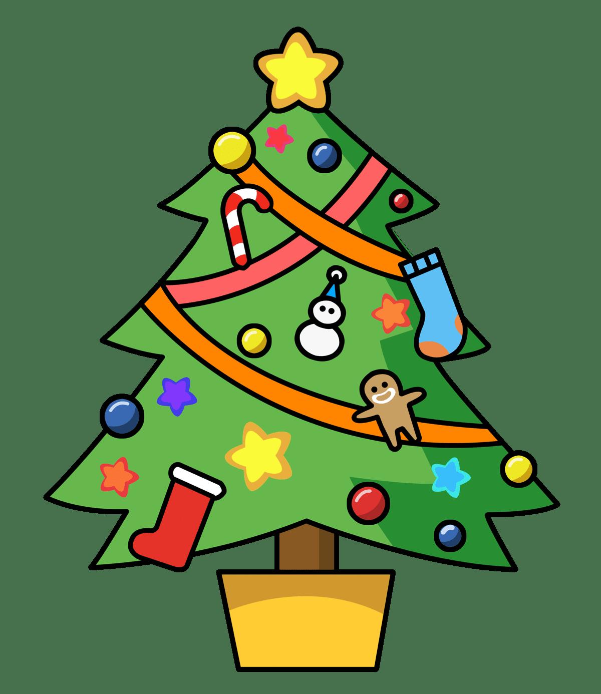 1200x1386 Picturesque Design Ideas Christmas Tree Clipart 297 Free Clip Art