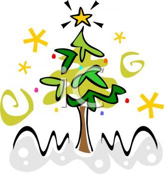 329x350 Stylized Christmas Tree Design