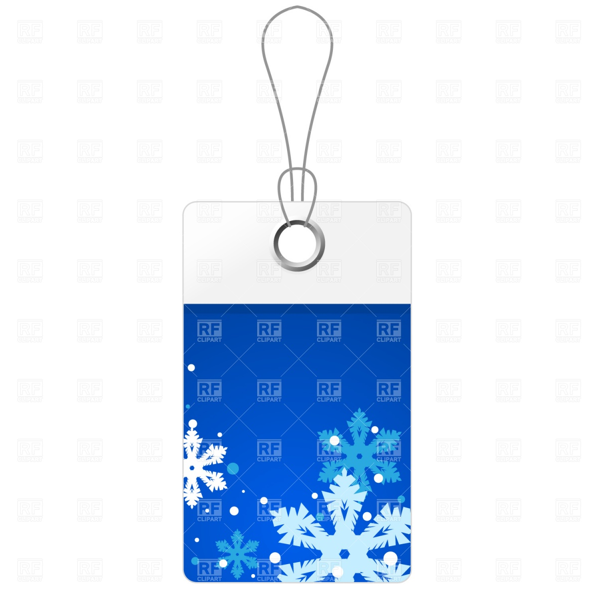 1200x1200 Blue Christmas Price Tag Royalty Free Vector Clip Art Image