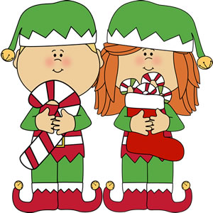 300x300 Candy Cane Clipart Elf