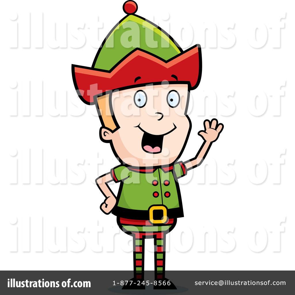 1024x1024 Christmas Elf Clipart