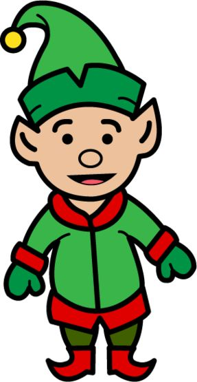 287x555 Picturesque Design Christmas Elf Clipart Free Cliparts Download