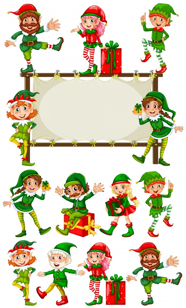 626x1035 Christmas Elf Vectors, Photos And Psd Files Free Download
