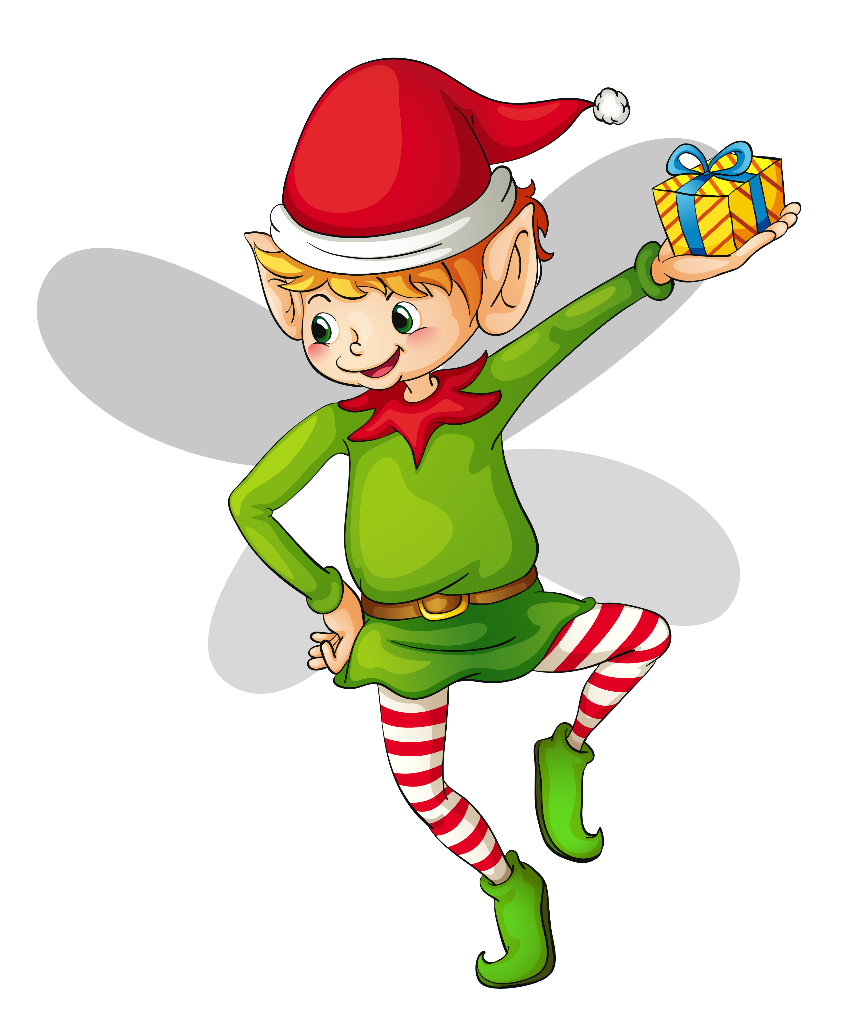 3354x3993 Christmas Cute Elf Clipart Gallery Yopriceville High Quality