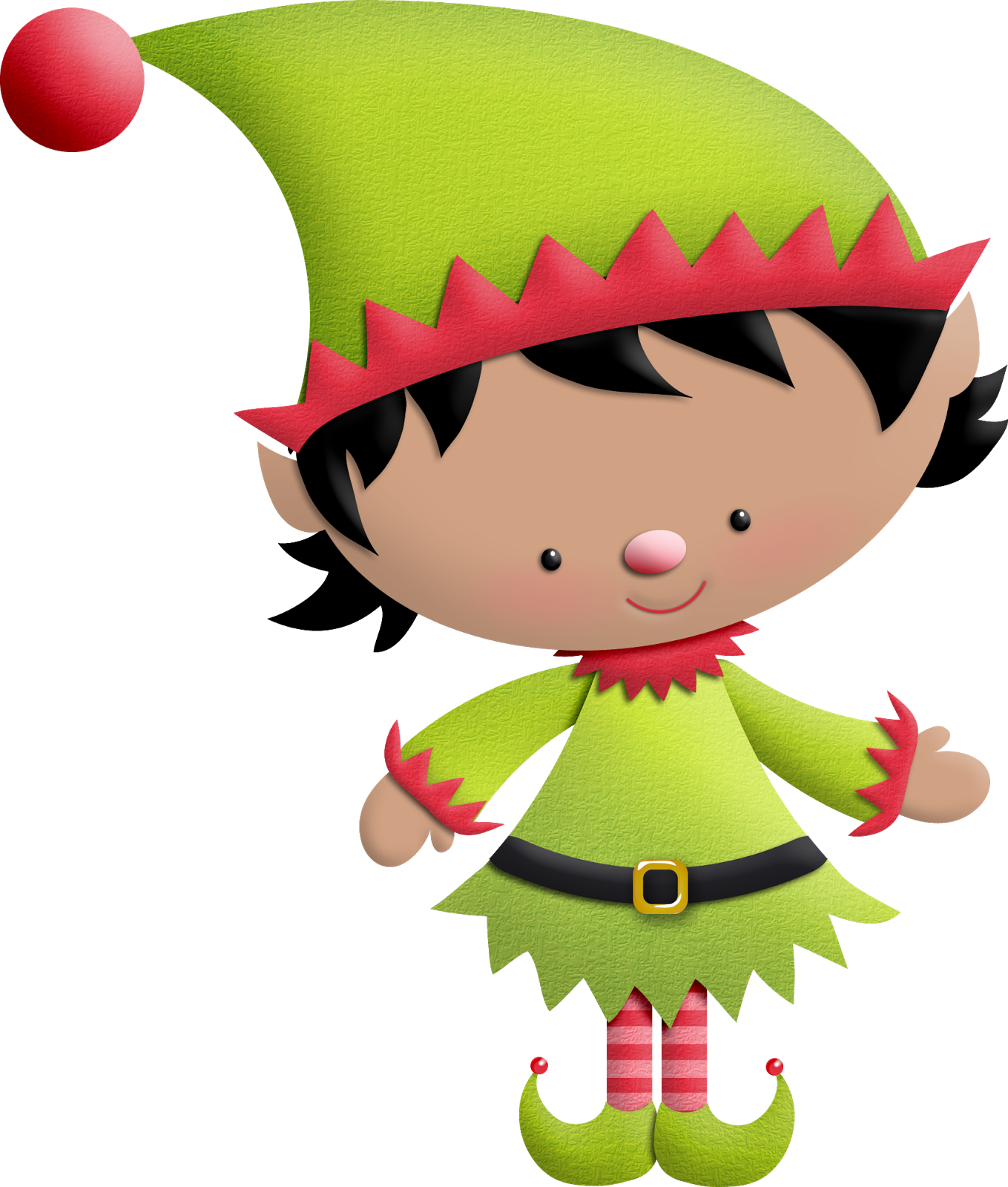 1359x1600 Elves Of The Helping Santa Clip Art. Oh My Fiesta! In English