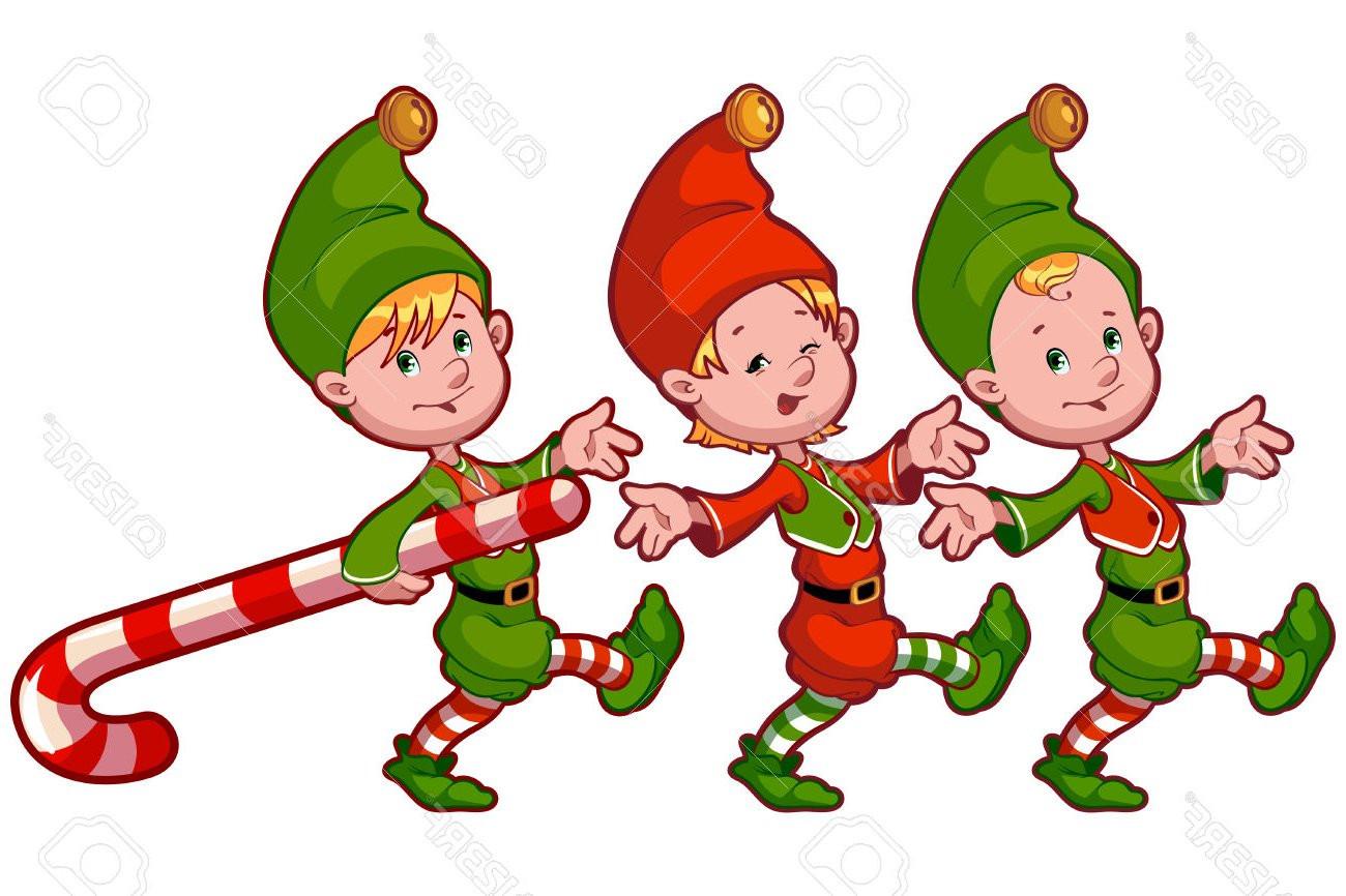 1300x866 Free Christmas Elf Clip Art Royalty Rf Noticeable Santa S Elves