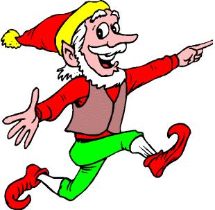 310x303 Free Christmas Elf Clipart