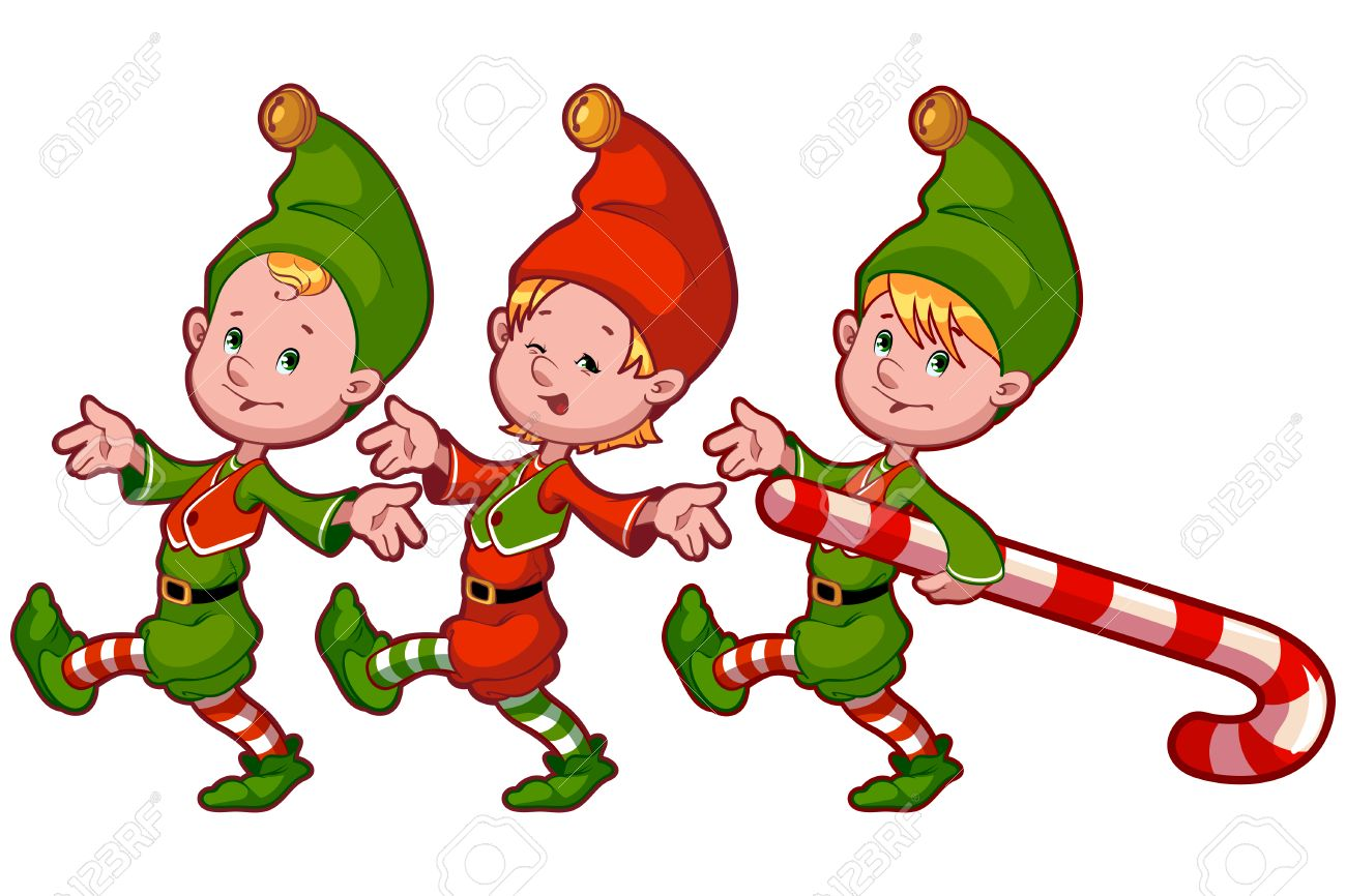 1300x866 Introducing Christmas Pictures Of Elves With Candy Vector Clip Art