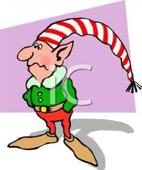 293x350 One Of Santa's Worried Elves