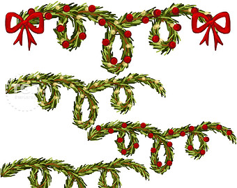 340x270 Greenery Clip Art For Christmas Fun For Christmas