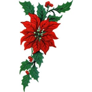 300x300 Free Christmas Garland Border Clip Art Clipart Collection