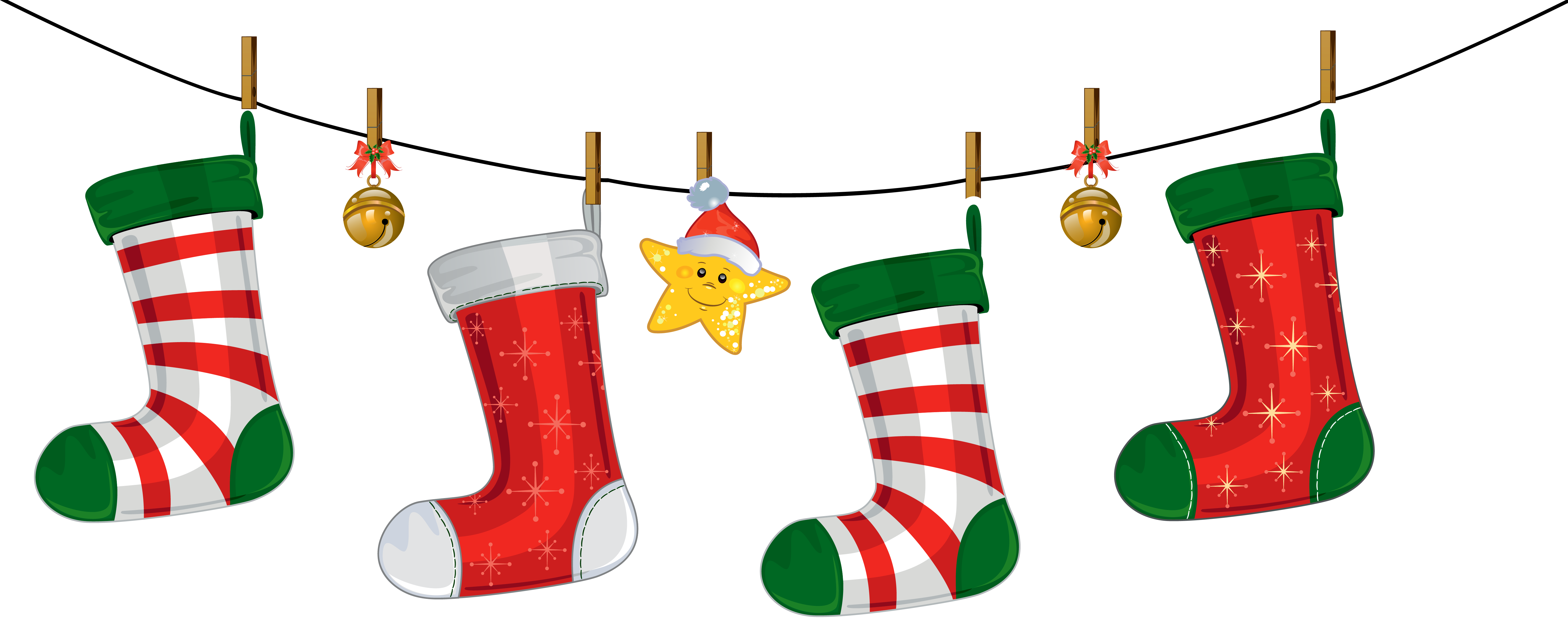5825x2372 88 Free Christmas Clip Art Transparent Background ClipartLook