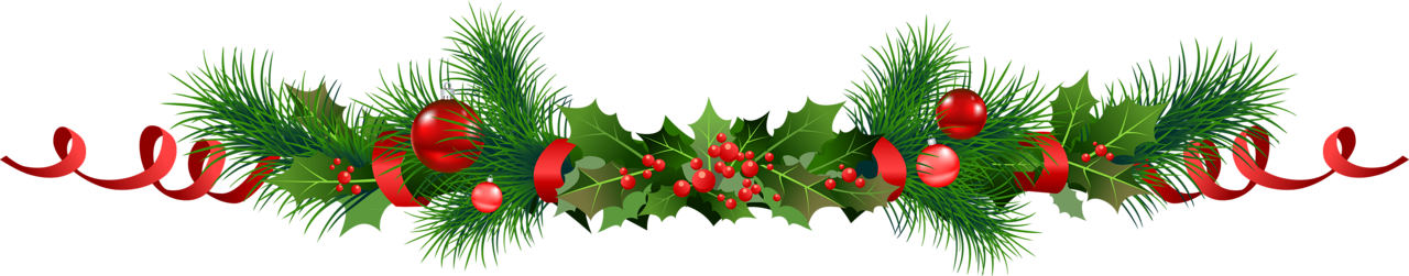 Christmas Garland Clipart At Getdrawings Com Free For Personal Use