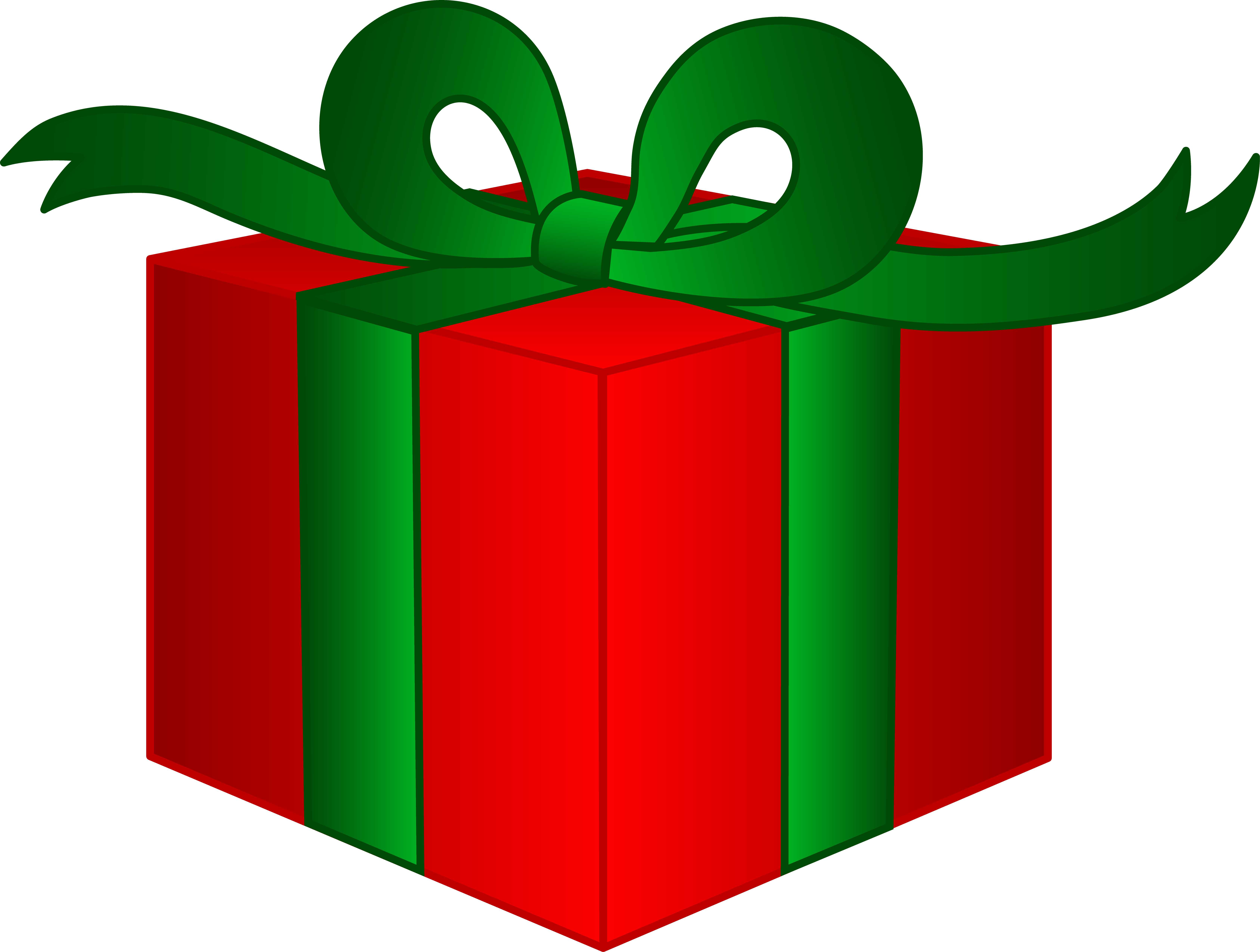 6747x5099 Christmas Gift Boxes Clip Art Happy Holidays!