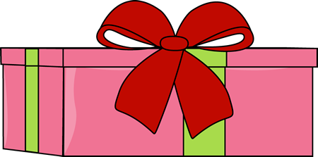 450x223 Christmas Gifts Clipart