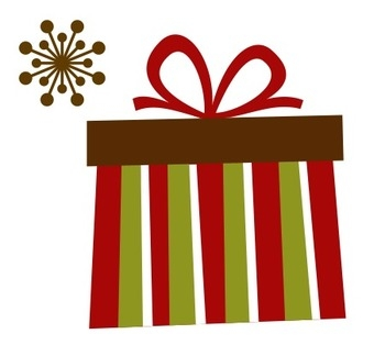 350x324 Clipart Christmas Gift Box