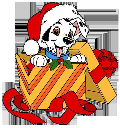 397x425 101 Dalmatians Christmas Clip Art Disney Clip Art Galore