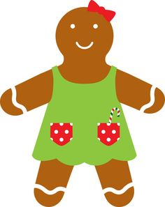 236x297 Christmas Gingerbread Girl Clip Art Clip Art