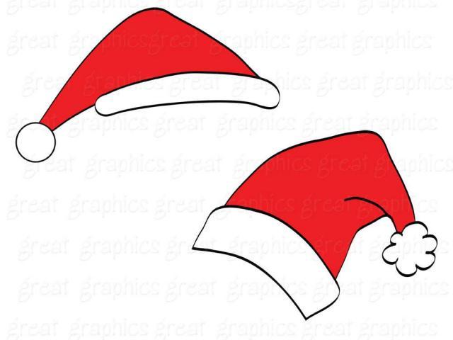 640x480 Santa Hat Clipart