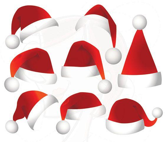 570x482 Santa Hats Clipart Christmas Santa Claus Hat By Maypldigitalart