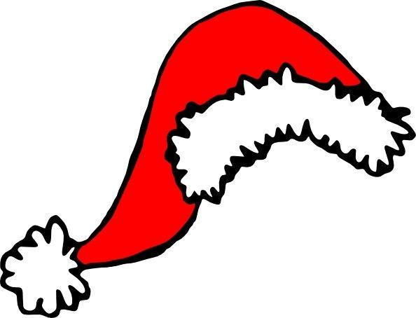 594x454 Stephantom Santa Hat Clip Art Dental Decor Santa