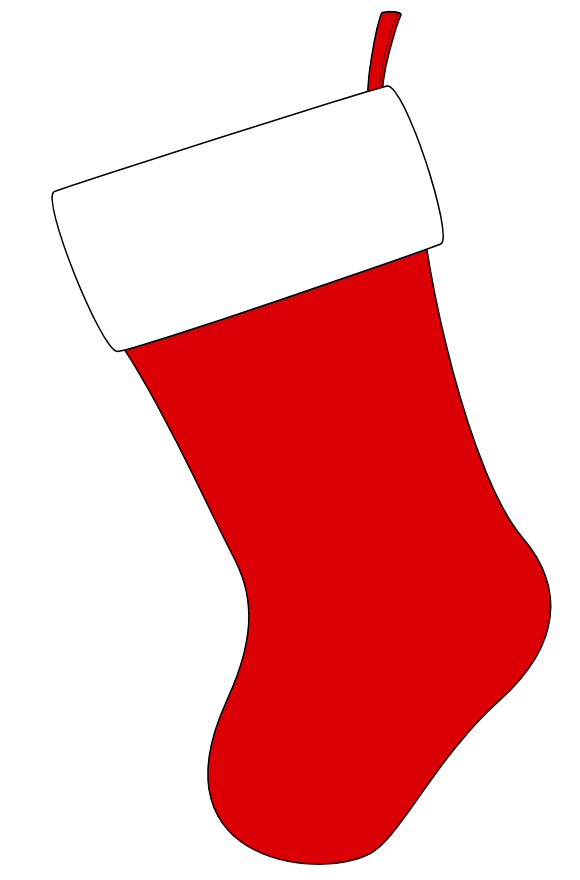 580x880 Christmas Stocking Clip Art Amp Look At Christmas Stocking Clip Art