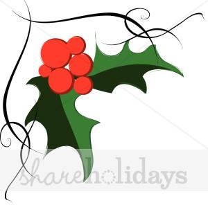 300x296 Holly Clipart, Christmas Holly, Christmas Holly Image