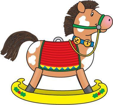 Christmas Horse Clipart