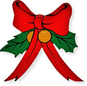 300x298 Christmas Ribbon Clipart Free Christmas Ribbon Cliparts Download